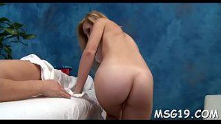 Blow job finger in ass tube